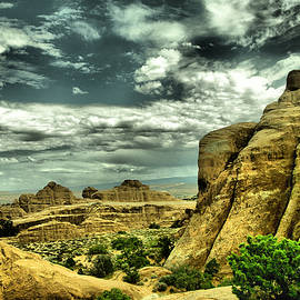 Jeff Swan - A view in Arches National park