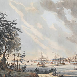 A View of the Town and Harbour of Halifax from Dartmouth Shore - Joseph Frederick Wallet DesBarres