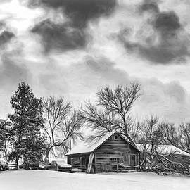 Steve Harrington - A Winter Sky - Vignette bw