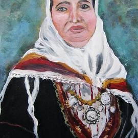 Vesna Martinjak -  A woman in national costume