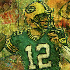 Jack Zulli - Aaron Rodgers 2 Green Bay Packers