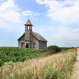 Andrea Kelley - Abandoned School in a Cornfield