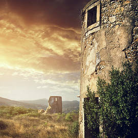 Carlos Caetano - Abandoned Windmills