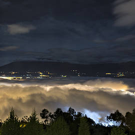Maria Coulson - Illuminated Clouds