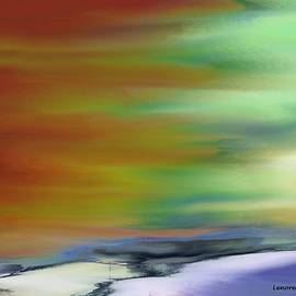 Lenore Senior - Abstract 14 - Ocean Sky