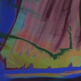 Lenore Senior - Abstract 16 - The Cliffs