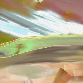 Lenore Senior - Abstract 25 - View of the Hill