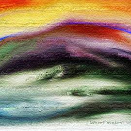 Lenore Senior - Abstract 7 - Mountain