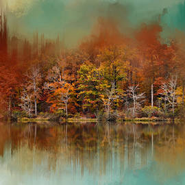 Jai Johnson - Abstract Autumn Lake