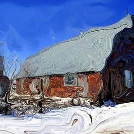 Rick Rauzi - Abstract Barn