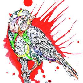 Dwayne  Hamilton - Abstract Bird 002