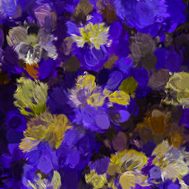 Leif Sohlman - Abstract  Blue Anemone