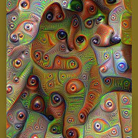 Kira Bodensted - Abstract Cat