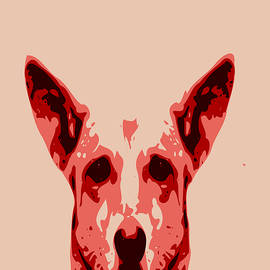 Keshava Shukla - Abstract Dog Contours
