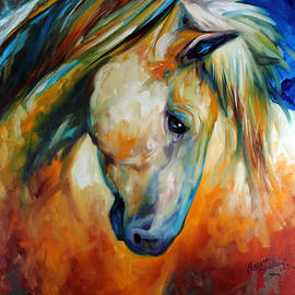 Abstract Equine Eccense
