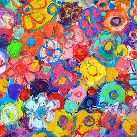 Ana Maria Edulescu - Abstract Floral
