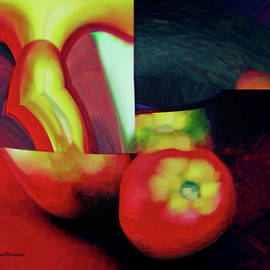 Miss Pet Sitter - Abstract Fruit Art 5