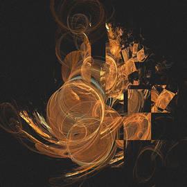 John Prause - Abstract Gold Array