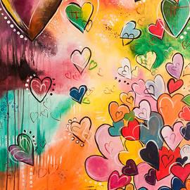 Nikki Chauhan - Abstract Hearts