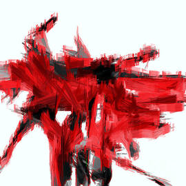Rafael Salazar - Abstract in Red