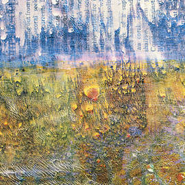 Sharon Cummings - Abstract Landscape Art - Only Words - Sharon Cummings