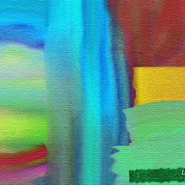 Lenore Senior - Abstract - Landscape Diptych
