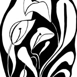 Sarah Loft - Abstract Lilies