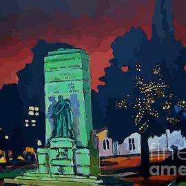 John Malone - Abstract of War Memorial Grand Parade Halifax