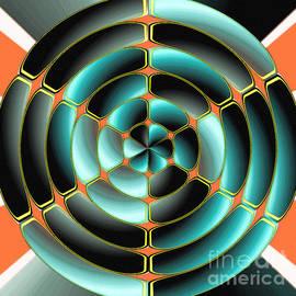 Gaspar Avila - Abstract radial object