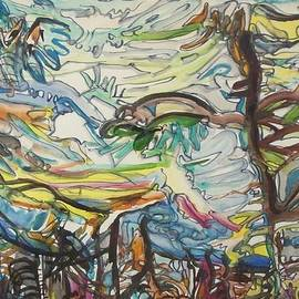 Evelyn Bell Vodicka - Abstract Sky and Landscape