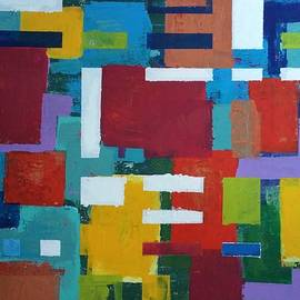 Jean L Fassina - abstract summer in Puglia