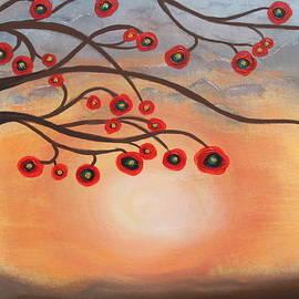 Jolanta Anna Karolska - Abstract Sunset