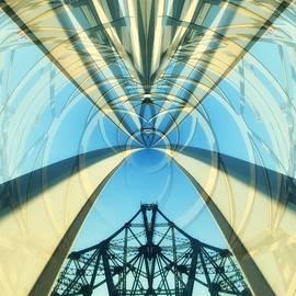 Debra Martz - Abstraction of Bridges