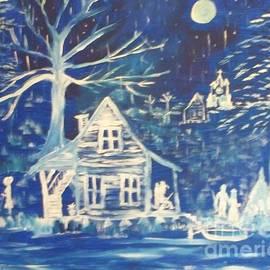 Seaux-N-Seau Soileau - Acadian Blue Willow