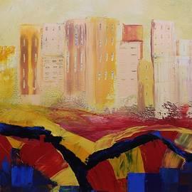 Mario Sergio Calzi - Acrylic MSC 141