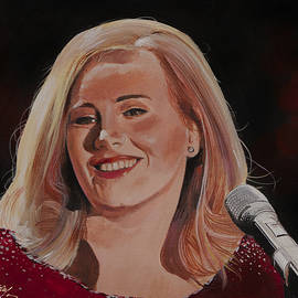 Bill Dunkley - Adele Portrait