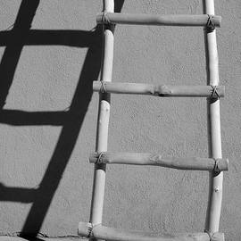 David Gordon - Adobe Ladder and Shadow Taos NM