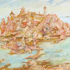 Maya Gusarina - Adriatic Afternoon. Triptych