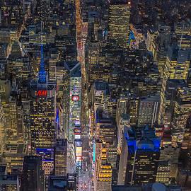 Susan Candelario - Aerial New York City 42nd Street