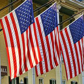 Allen Beatty - American Flags of Congress Hall