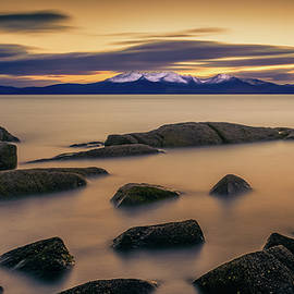Gareth Burge Photography - After The Sun, Portencross