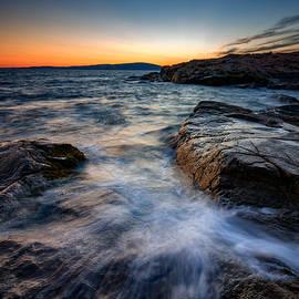 Afterglow at Schoodic Point  - Rick Berk