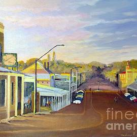 Audrey Russill - Afternoon Light Beechworth Victoria Australia