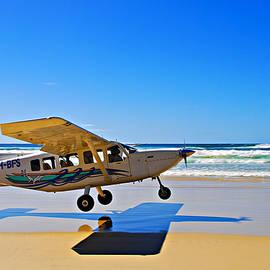 Andrei SKY - Air Fraser Island landing
