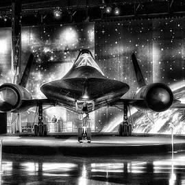 Thomas Woolworth - Airplanes Military Jet SR 71B PA 04 BW