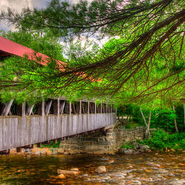 Joann Vitali - Albany Covered Bridge - White Mountains New Hampshire