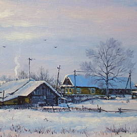Alexander Volya - Alexandrovka Village. Winter