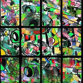 Ricardo Mester - Alien city view through a window