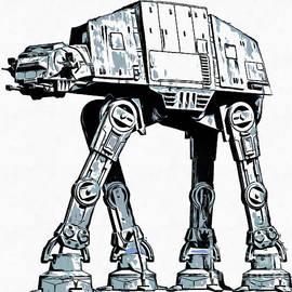 All Terrain Armored Transport AT AT walker - Edward Fielding