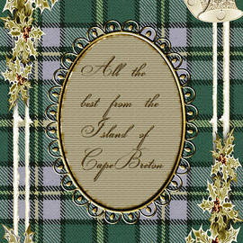 Vickie Emms - All the best from the Island of Cape Breton Card